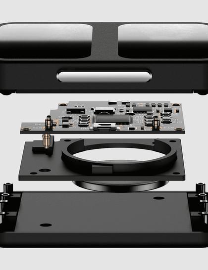 AURA Strap for Apple Watch black 42/44mm