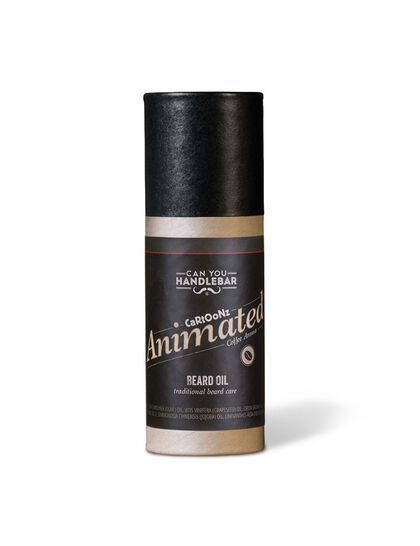 Cyhb Beard Oil Bottle Animated Coffee Aroma