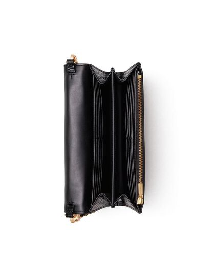 Robinson Embossed Chain Wallet