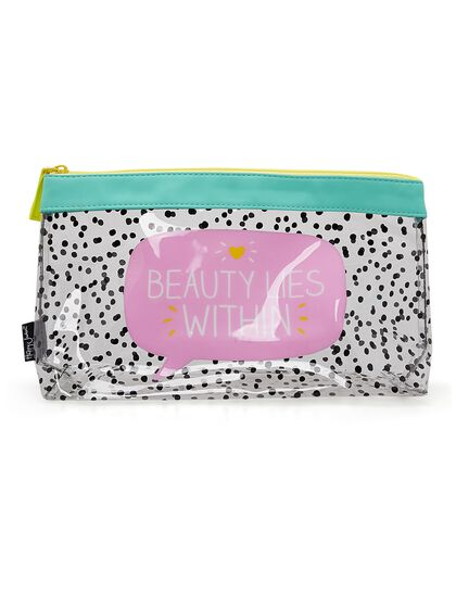 Beauty Lies Within Wash Bag