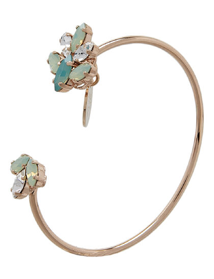 Gold Plated Crystal Cuff