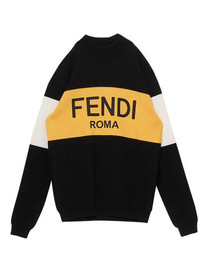 Knitted Jumper Fendi Roma
