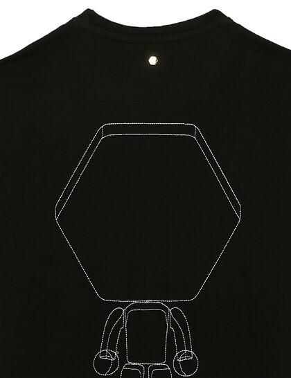 Balr. Multi Logo Straight T-Shirt