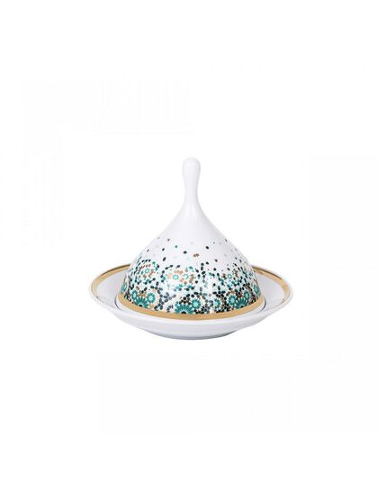 Mirrors Tagine Dish - Emerald