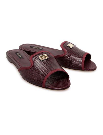 Logo Embellished Sandals