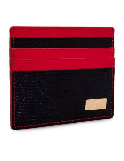 Python Leather Card Holder
