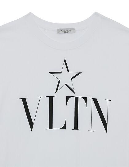 VLTN Logo Star Cotton T-shirt