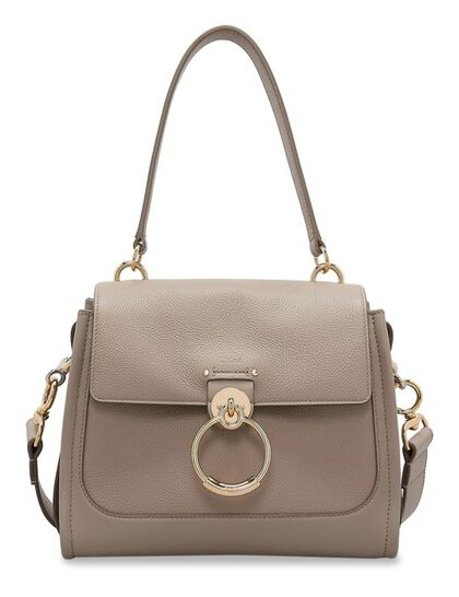 Tess Day Shoulder Bag Smooth & Shiny Calfskin