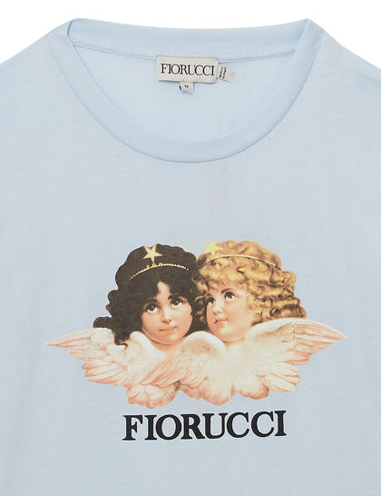 Vintage Angels White Tee