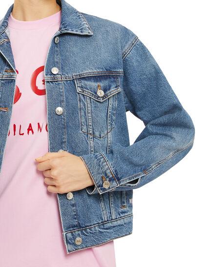 Graphic Denim Jacket