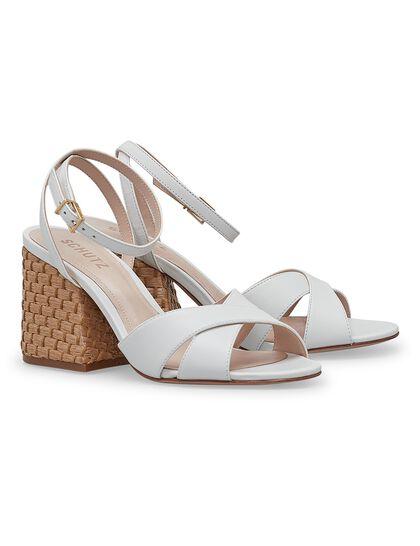 Strappy Block Sandals