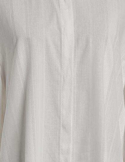 Shoreditch Dobby Big Sleeve Blouse
