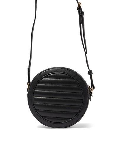 Quilted Round Shoulder Bag