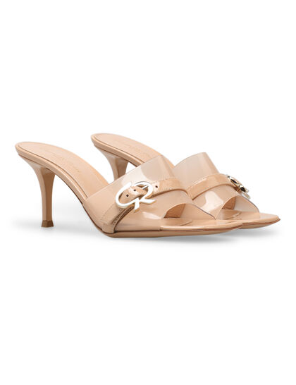 Buckle Slip-On Sandals