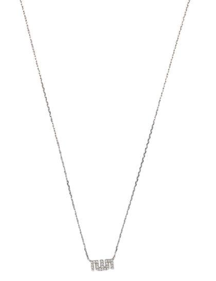 Allah Necklace Extra Small Full Diamond