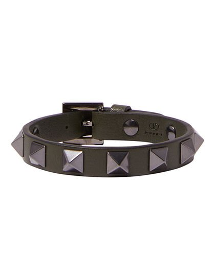 Leather Studded Bracelet