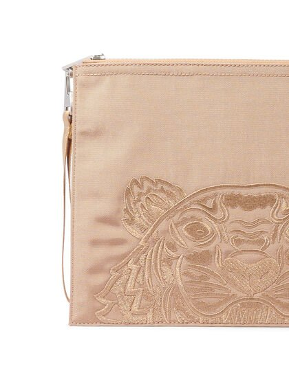 Embroidered Large Pouch