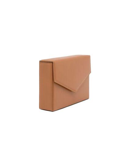 Amini Johana Patent Leather Clutch