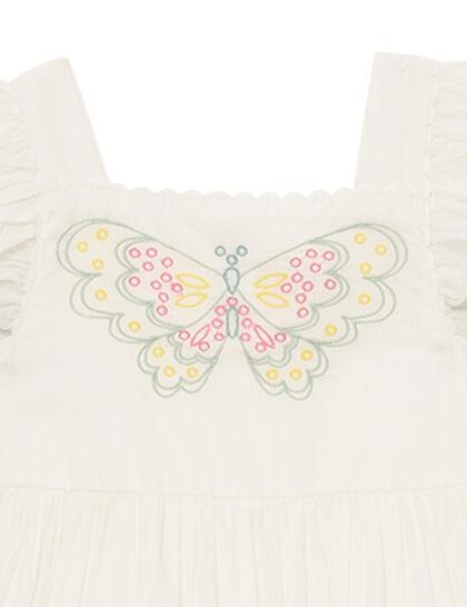 Organic Cotton Butterfly Dress