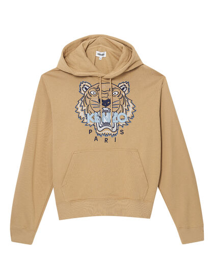 Embroidered Tiger Hoodie