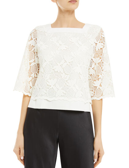 Chunky Lace Top