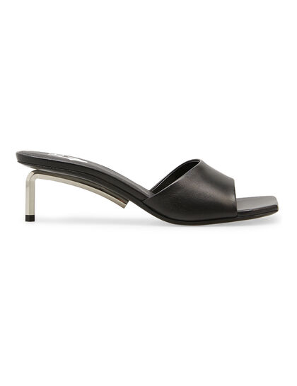 Leather Allen Mules