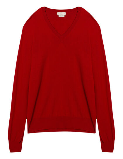 V Neck Harness Pullover