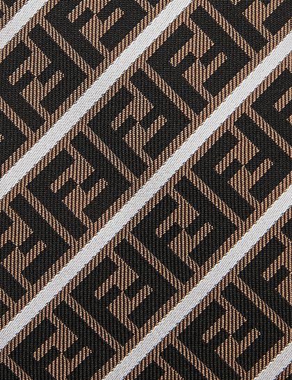 Tie 6.5cm Ff Yellow Stripes