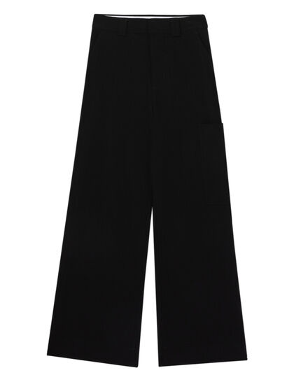 Mélange Suiting Pants