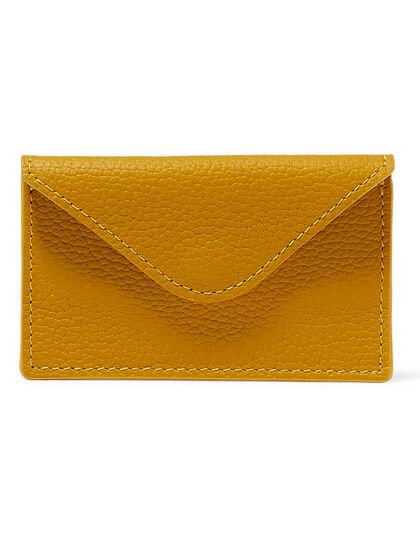 Montroi Cardholder Envelope Yellow