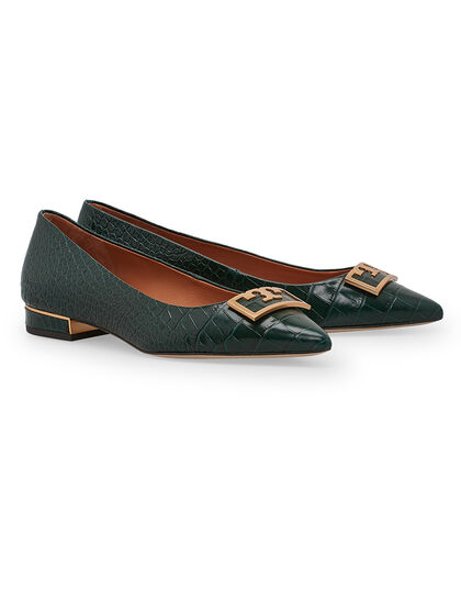 Gigi 20mm Pointy Toe Flat