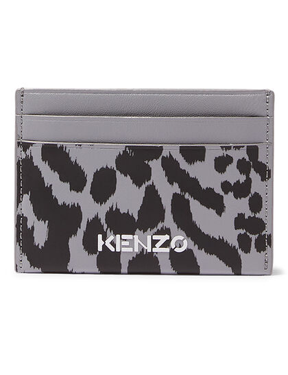 Printed Leather Cardholder