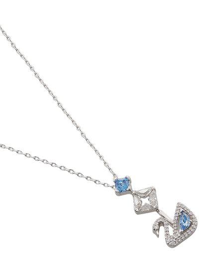Sjc Dazzling Swan-Necklace Y Czfu/Rhs Anni