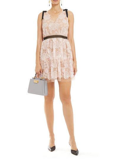 Starlet Mini Rose Lace Dress