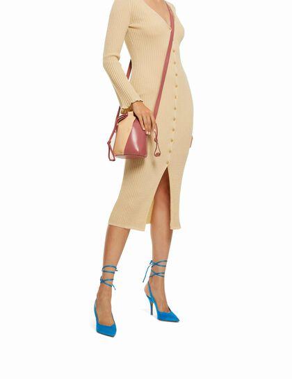 Knitted Cardigan Maxi Dress