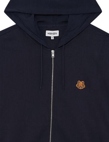 Zipped Track Jacket Tiger Crest