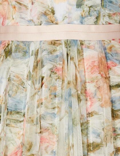 Rose Garden V-Neck Gown
