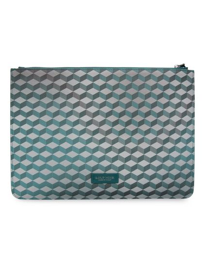 Maxi Pouch Cheval - Large Pouch Printed In Signature Pattern