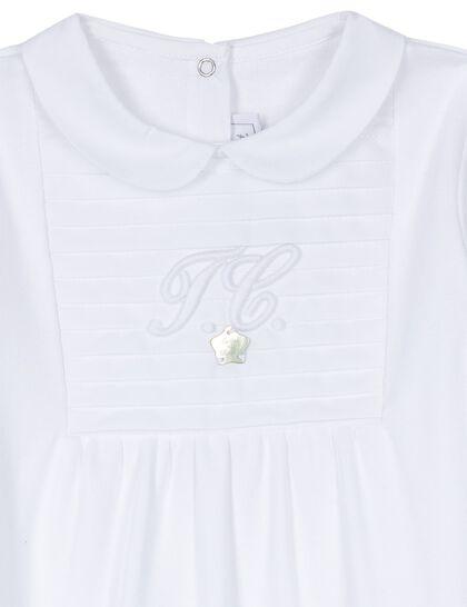 Logo Cotton Sleepsuit