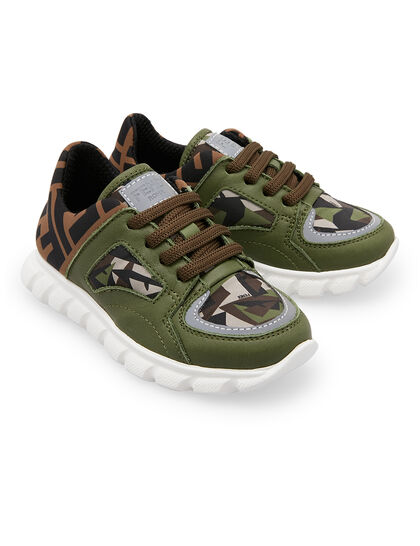 Junior Sneaker Lace Camouflage