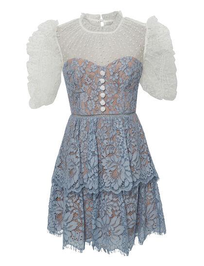 Tiered Skirt Mini Dress