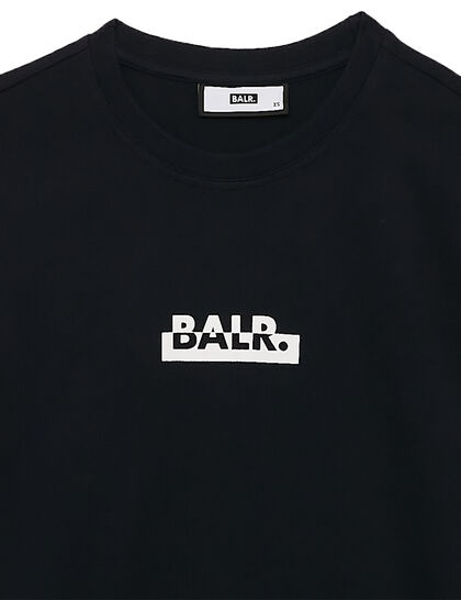 Contrasting Logo Loose T-Shirt