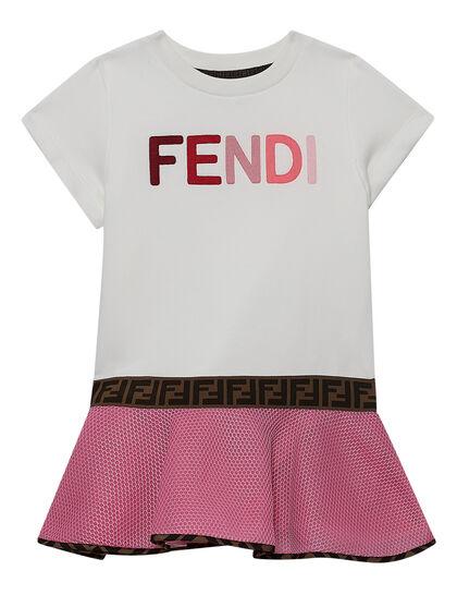 Dress Bif Logo Fendiff Elastic