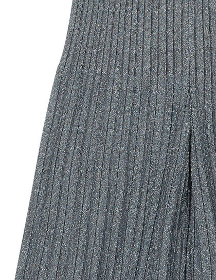 Lurex-Knitted Trousers
