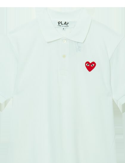 Logo Appliqué Cotton Piqué Polo