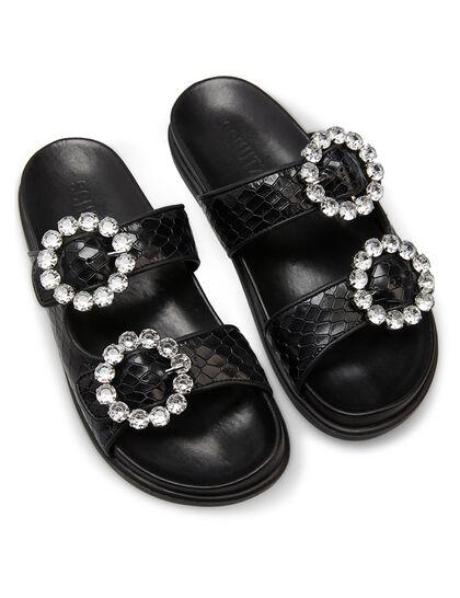 Rasteiro Embellished Sandals