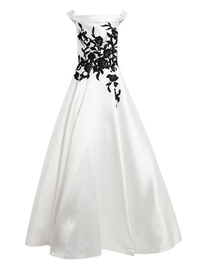 Off The Shoulder Long Ball Gown