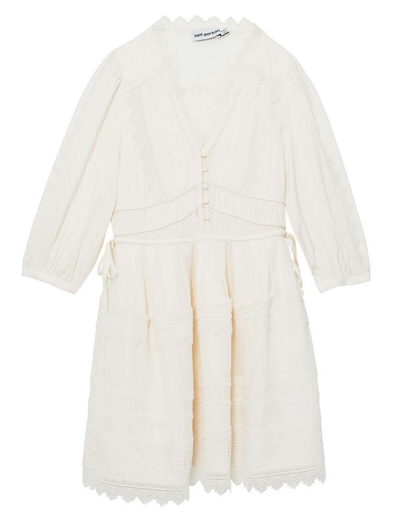 Openwork Mini Dress