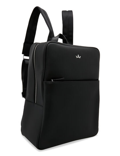 Award Backpack - Italian Leather Black