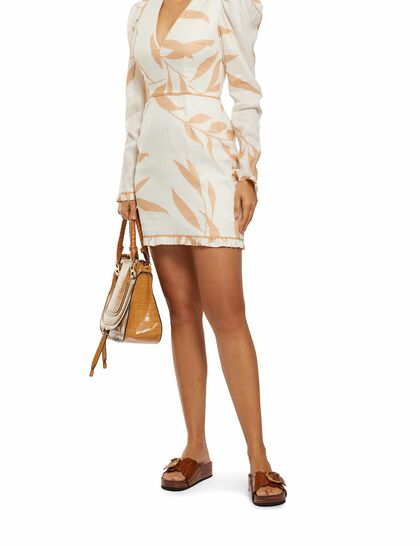 Alpine Long Sleeve Mini Dress